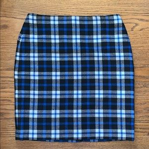 TALBOLTS plaid wool pencil skirt size 10